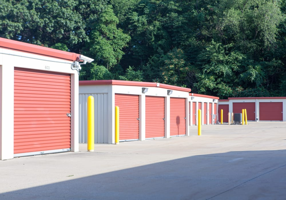 Storage Units at Summit Self Storage in Akron, Ohio