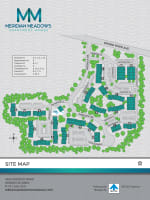 Site map of Meridian Meadows in Okemos, Michigan
