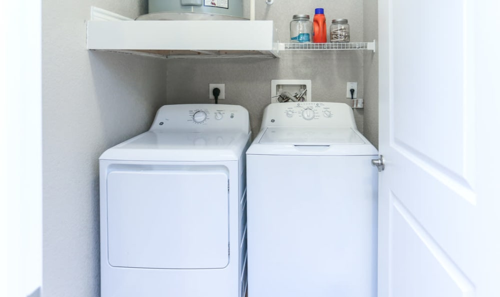 In-Home Washer and Dryer at Springs at Round Rock