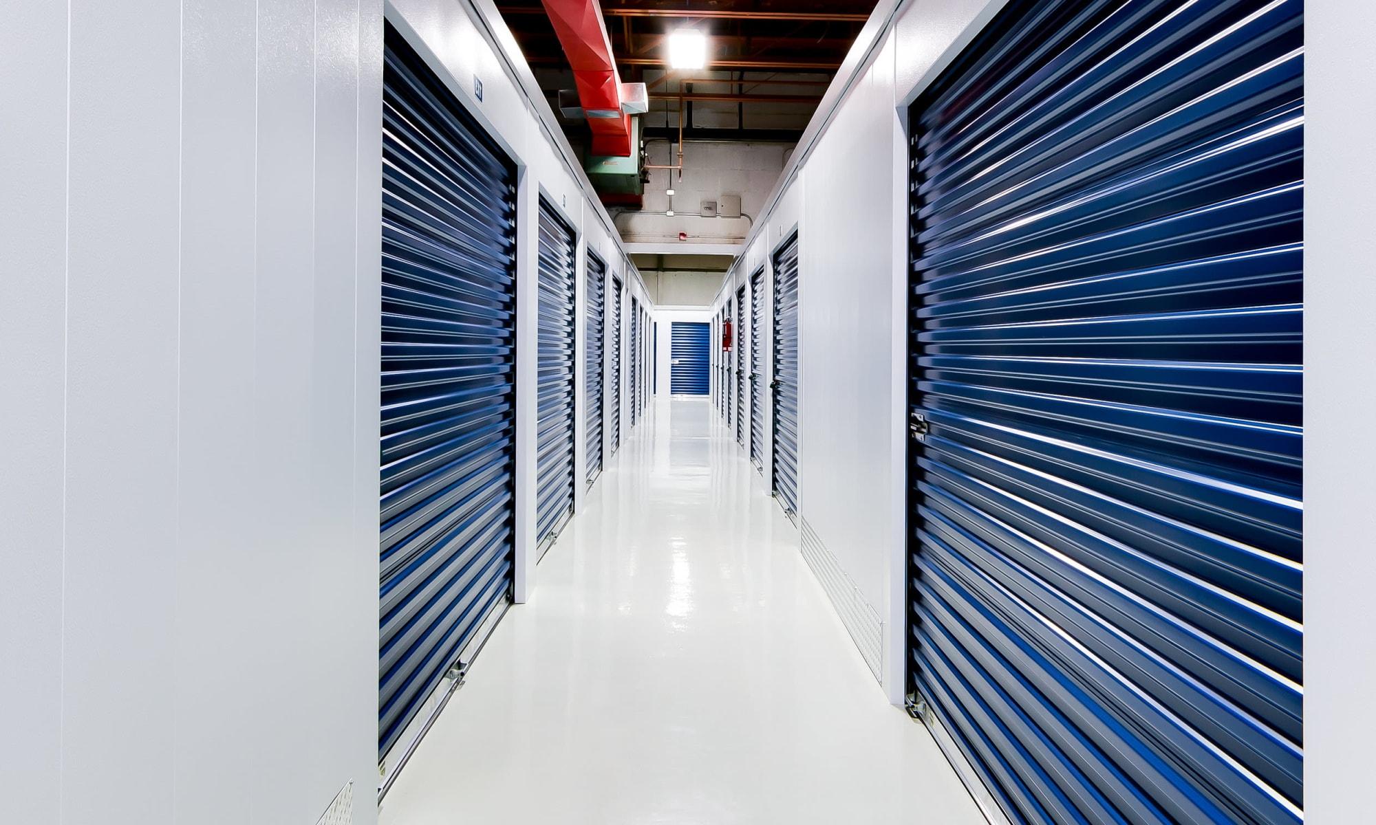 Self storage at CityBox Storage in Calgary, Alberta
