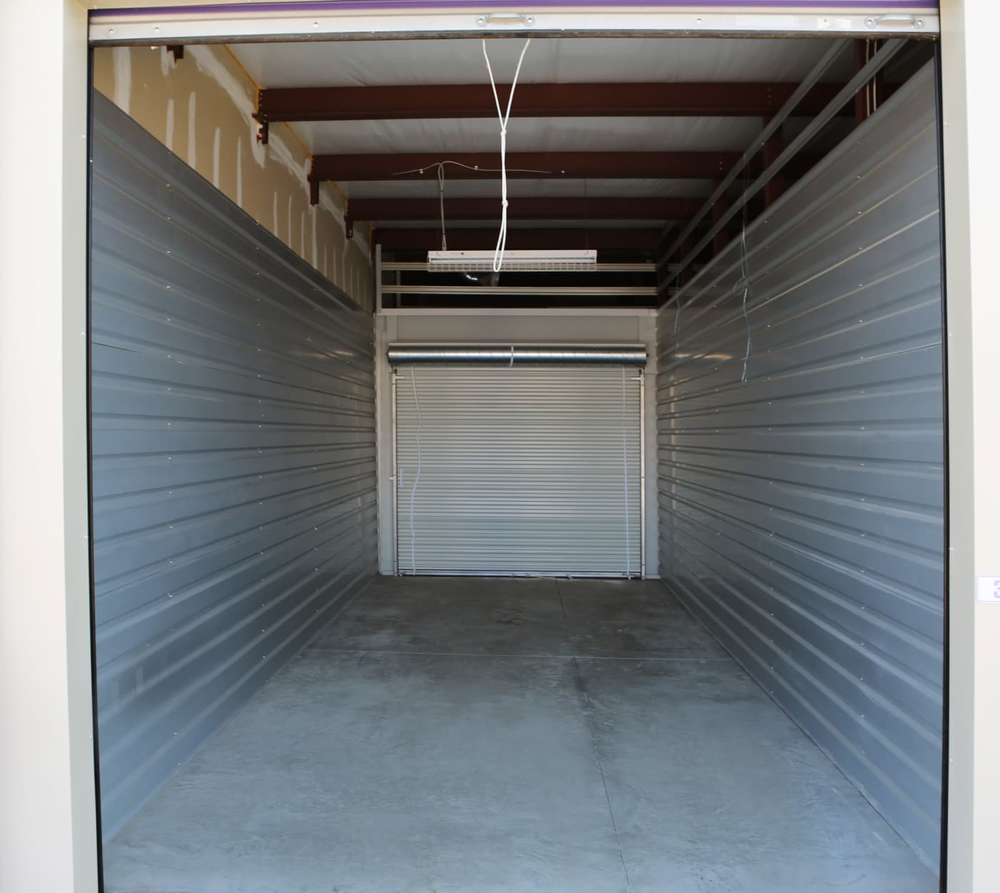 Ground-floor unit at StoreSmart Self-Storage in Englewood, Florida