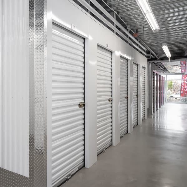 Indoor climate controlled units at StorQuest Self Storage in Naples, Florida