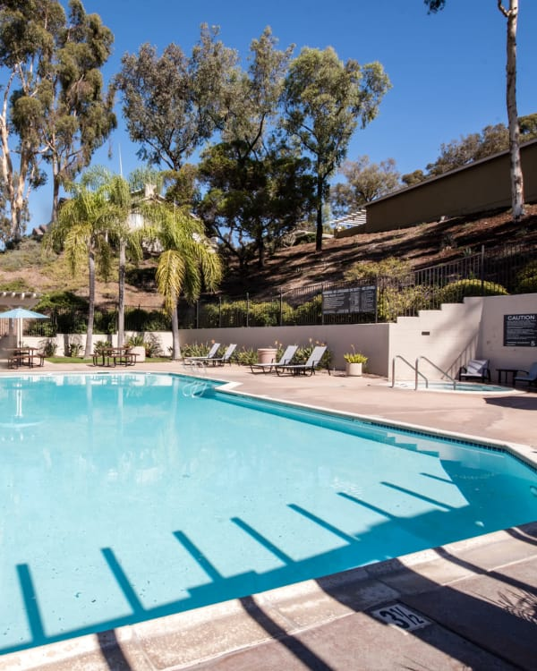 Pool at Lakeview Village Apartments in Spring Valley