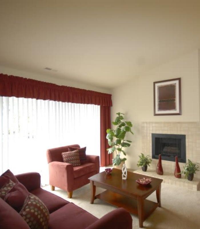 Apartment interiors at Northridge