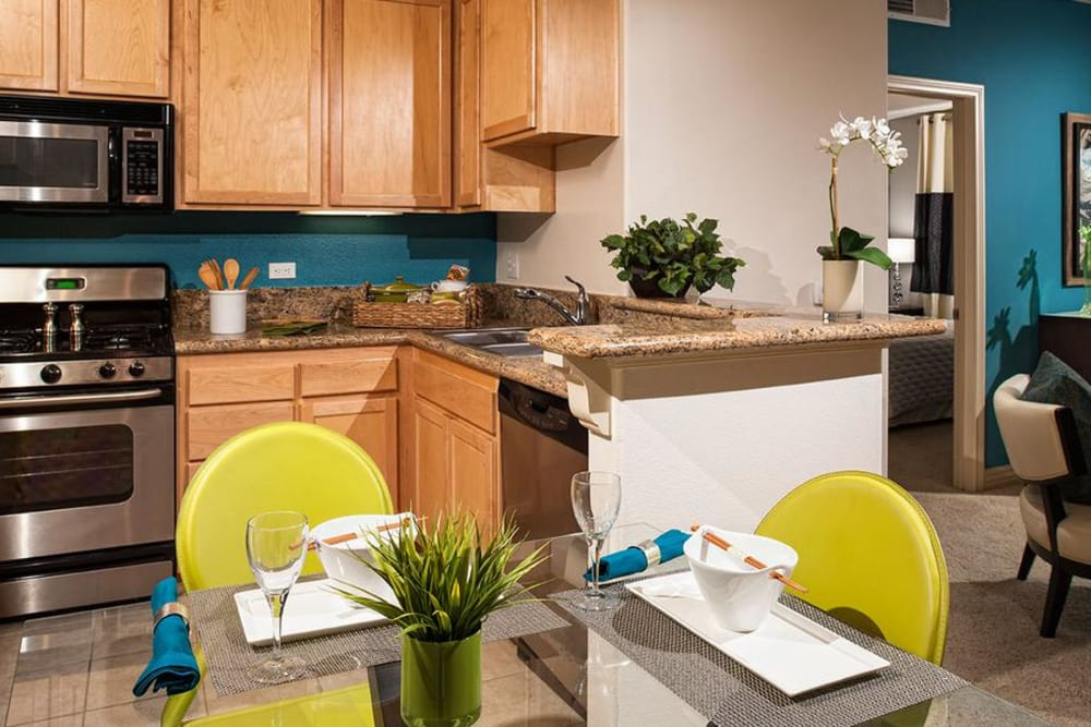 Fully Equipped Kitchen at Avana North Hollywood Apartments in North Hollywood, CA
