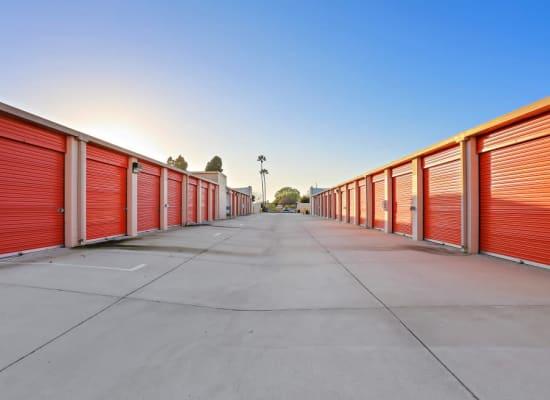 Convenient storage units at A-1 Self Storage in Huntington Beach, California