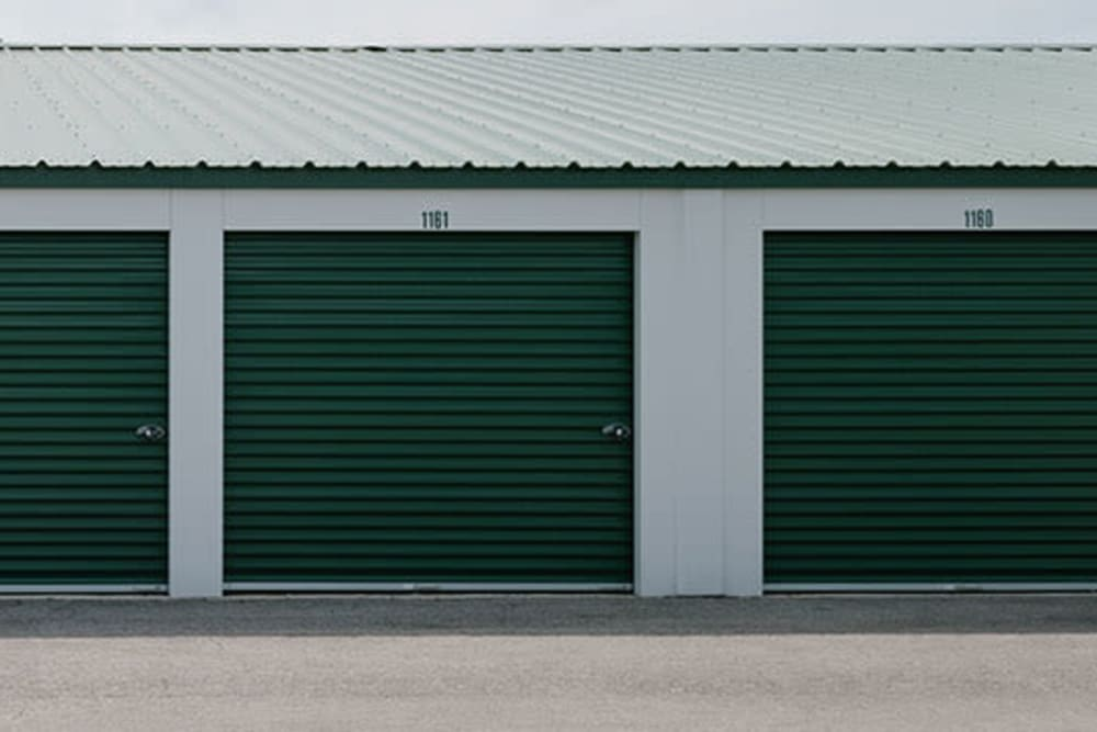 Easy access self storage units at StayLock Storage in Yorktown, Indiana