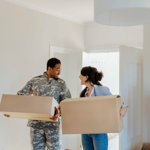 A couple moves into their new house near A-1 Self Storage in Fountain Valley, California