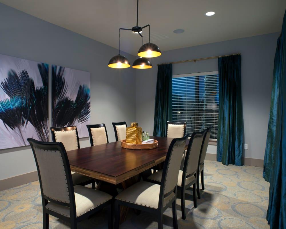 Meeting room at Savannah Oaks in San Antonio, Texas.