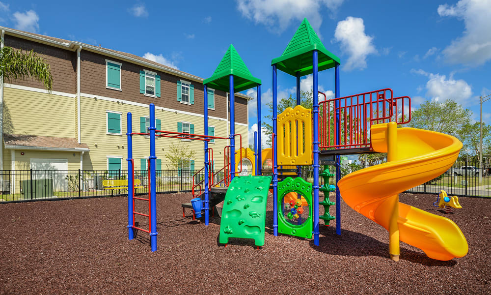 Children's playground at Cabana Club and Galleria Club in Jacksonville, Florida
