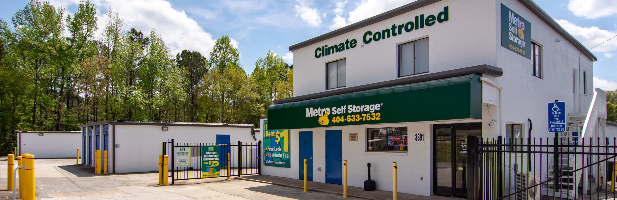 Metro Self Storage in Decatur, GA