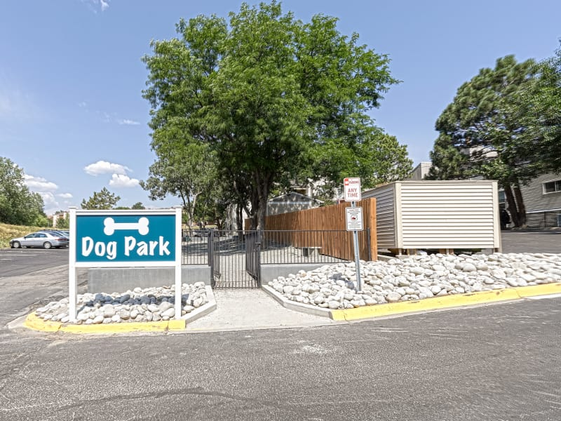 Westhills Apartment Homes dog park