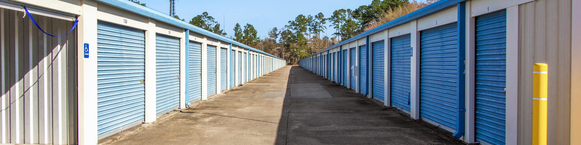 Kiosk at Global Self Storage in Summerville, South Carolina