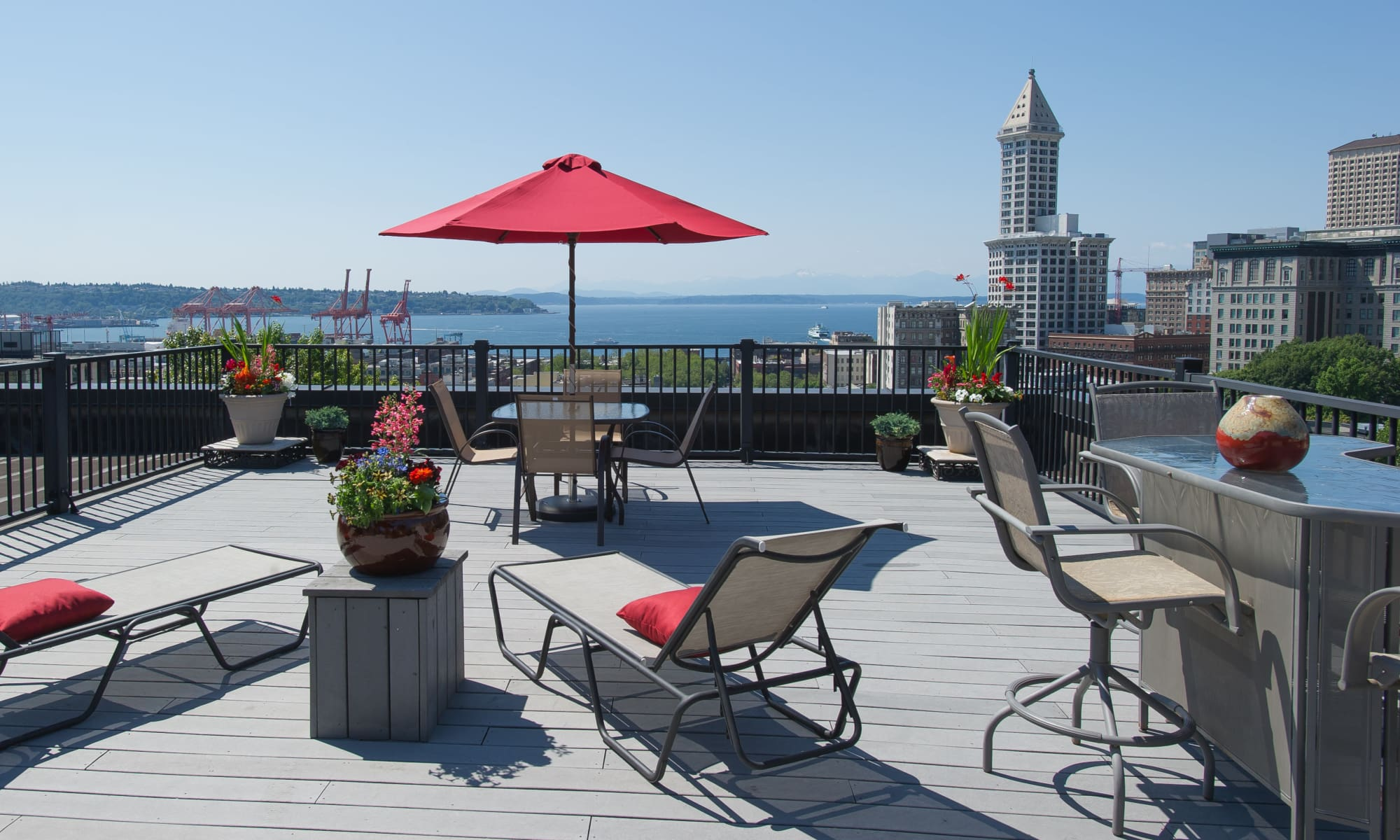 Contact us for more information at Metropolitan Park Apartments in Seattle, Washington