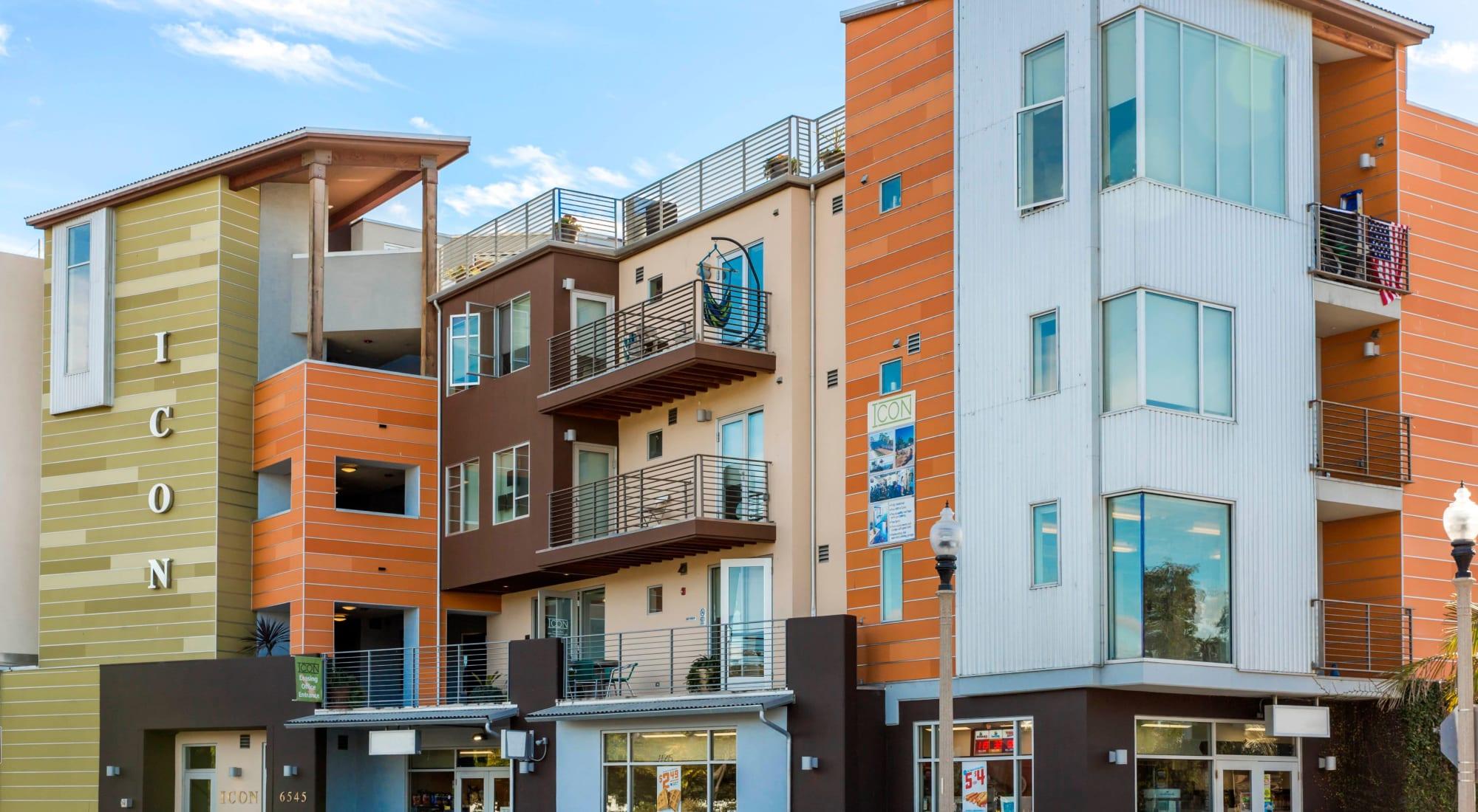 Apartments at ICON in Isla Vista, California