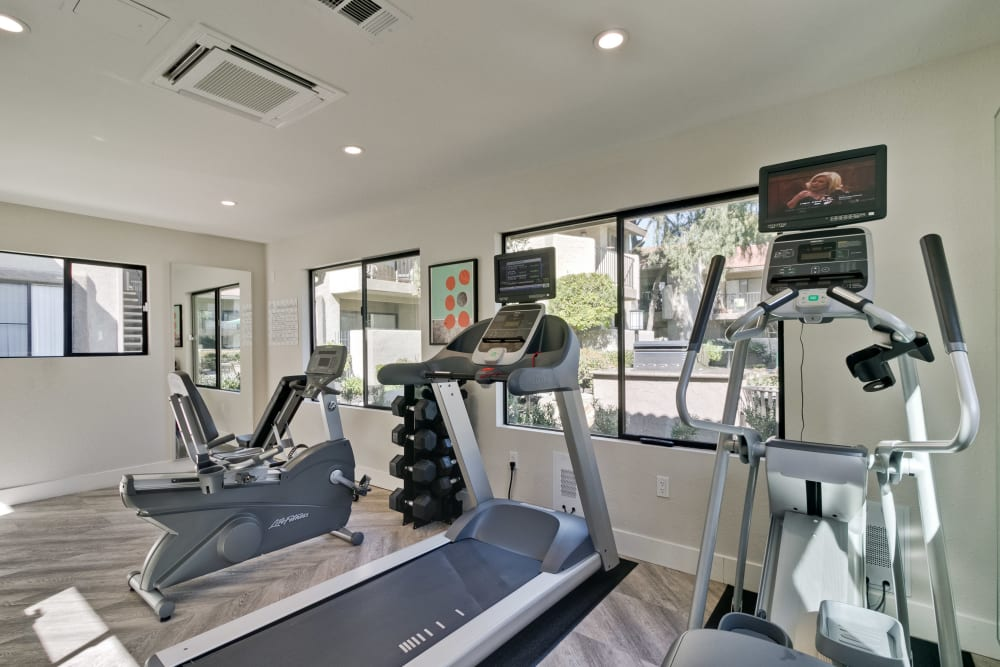 Terra Willow Glen offers an on site gym in San Jose, CA