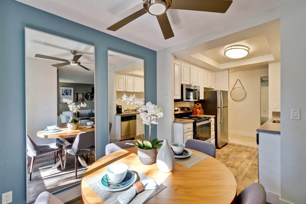 Dining room at Terra Willow Glen