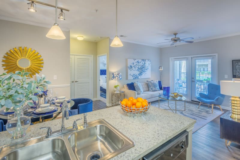 Our apartments in Raleigh, North Carolina offer units with great natural light at Sterling Town Center
