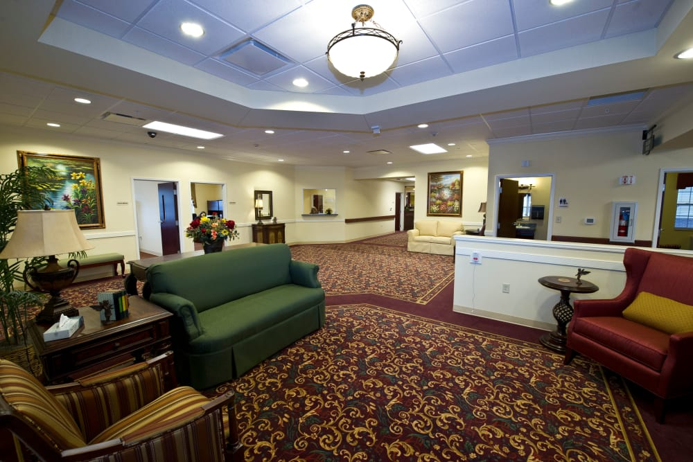 Common Area at Village Green Health Campus in Greenville, Ohio