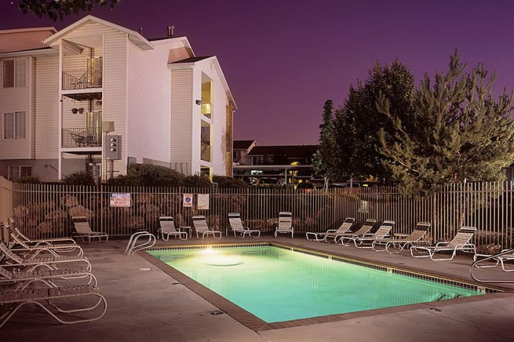 Refreshing swimming pool at Cherry Lane Apartment Homes