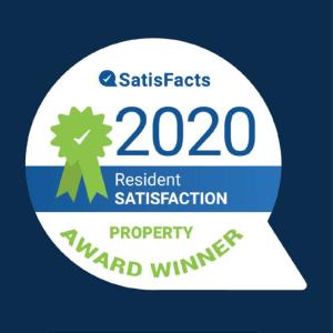 Satisfacts 2020 Award