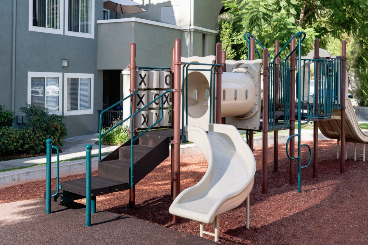 Playground at Madrid Apartments in Mission Viejo, California