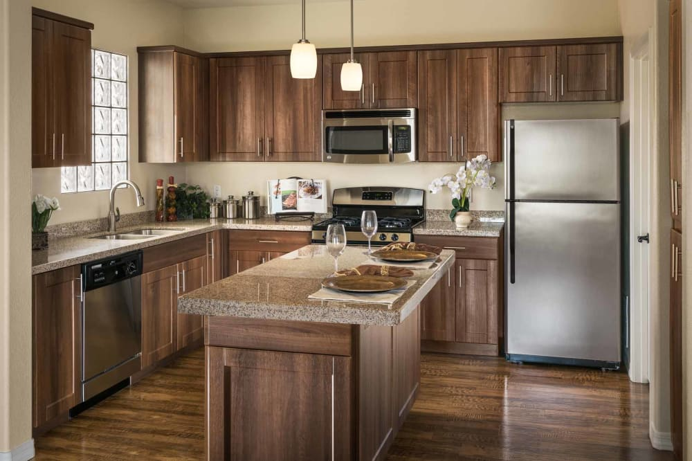 View the floor plans at San Hacienda in Chandler, Arizona