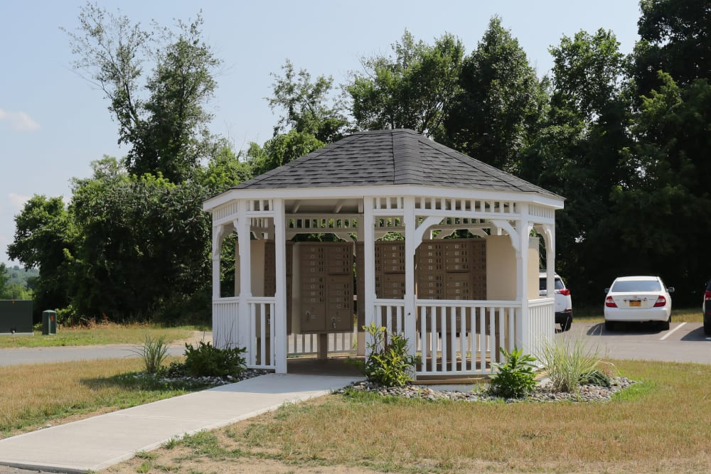 Outdoor gazebo at The Ridge in Troy, New York