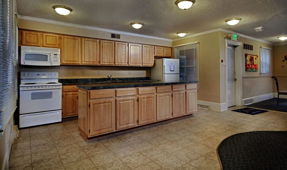 Kitchen at apartments in Harrisburg, Pennsylvania