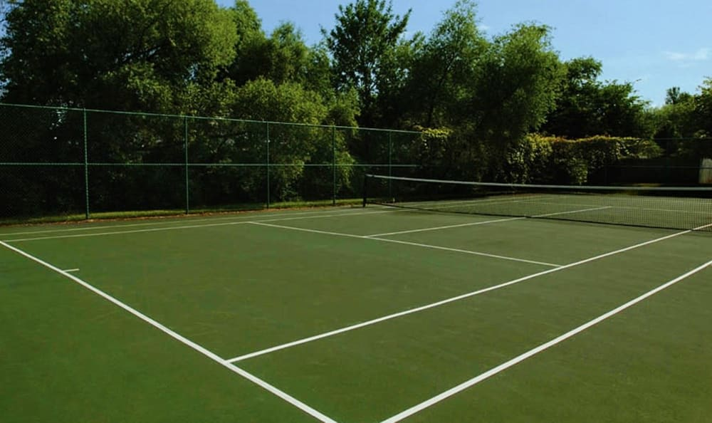 Tennis court at Waverlywood Apartments & Townhomes in Webster, New York