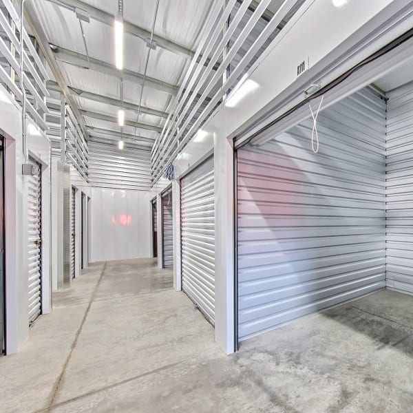 Climate-controlled indoor units at StorQuest Express Self Service Storage in Phoenix, Arizona