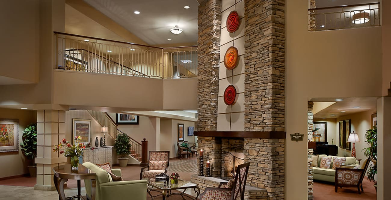 Living space at McDowell Village in Scottsdale, Arizona