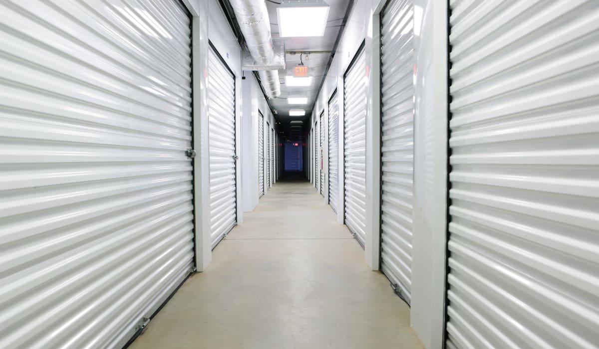 Interior units at Friendly Self Storage in Gypsum, Colorado