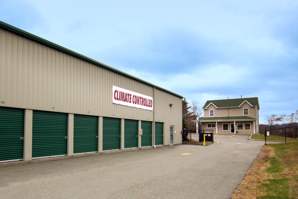 Exterior view of Capital Self Storage in Liberty, New York