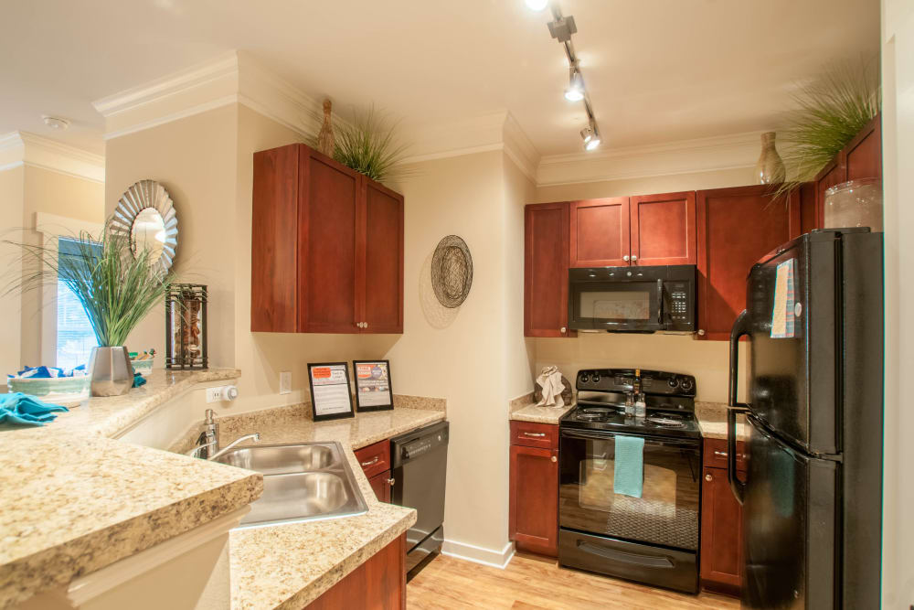 Beautiful Kitchen at Atlanta apartments