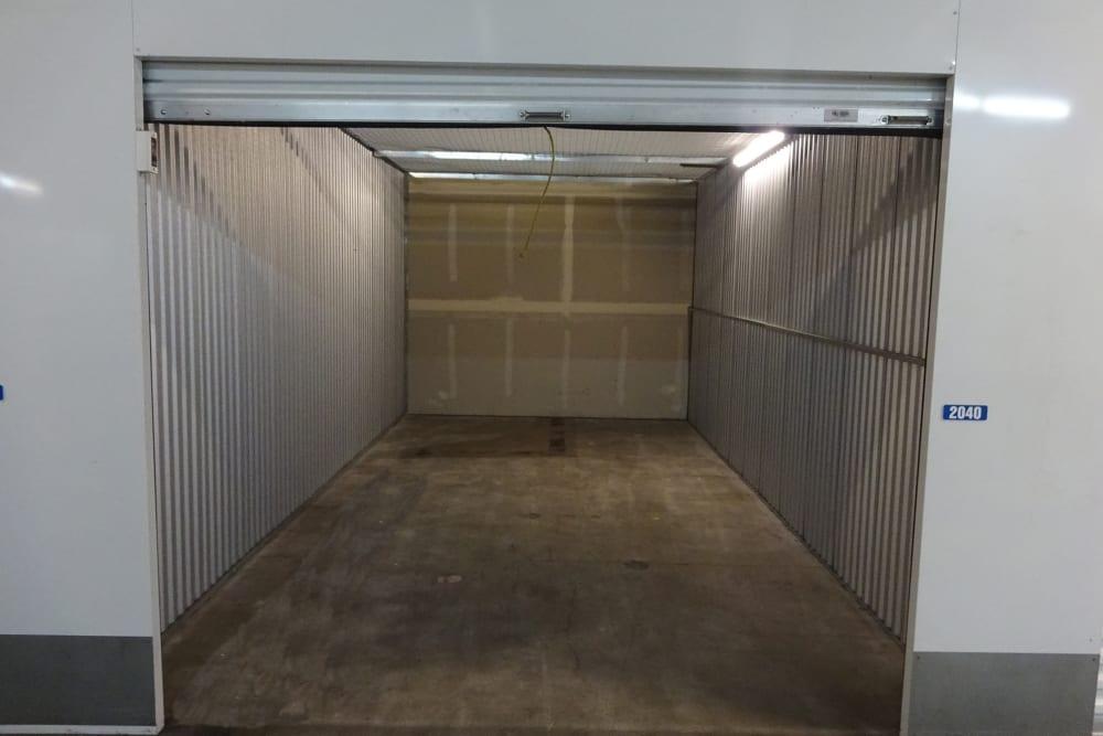 Inside a Storage Unit at Storage Etc... Torrance