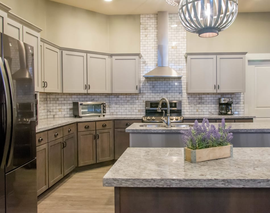 Large kitchen at Hacienda Del Rey in Litchfield Park, Arizona