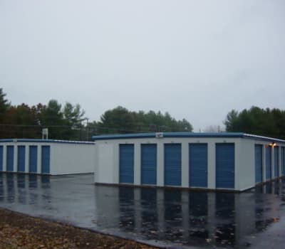 Self storage units for rent at Safe Storage in Springvale, Maine