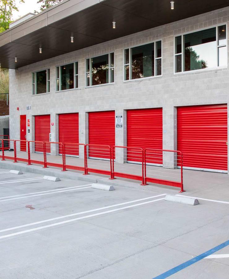 Parking and drive up storage units at StorQuest Self Storage in Walnut Creek, California