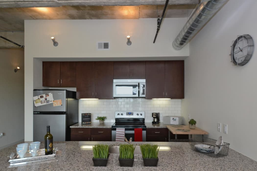 Interior of 1221 Broadway Lofts