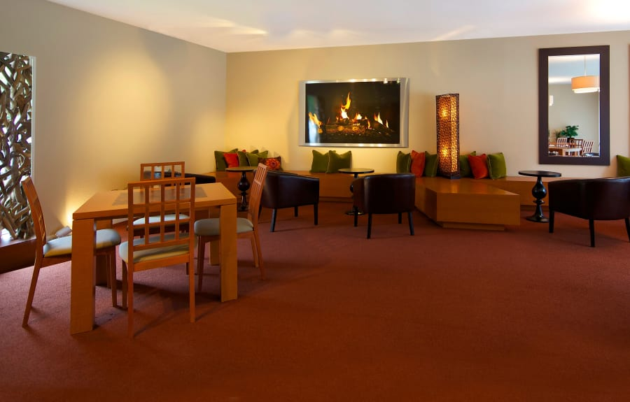 Clubhouse interior at Kensington Manor Apartments in Farmington, Michigan