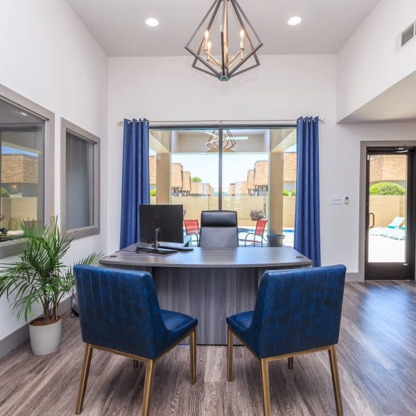 Office at The Manchester Apartments in Euless, Texas