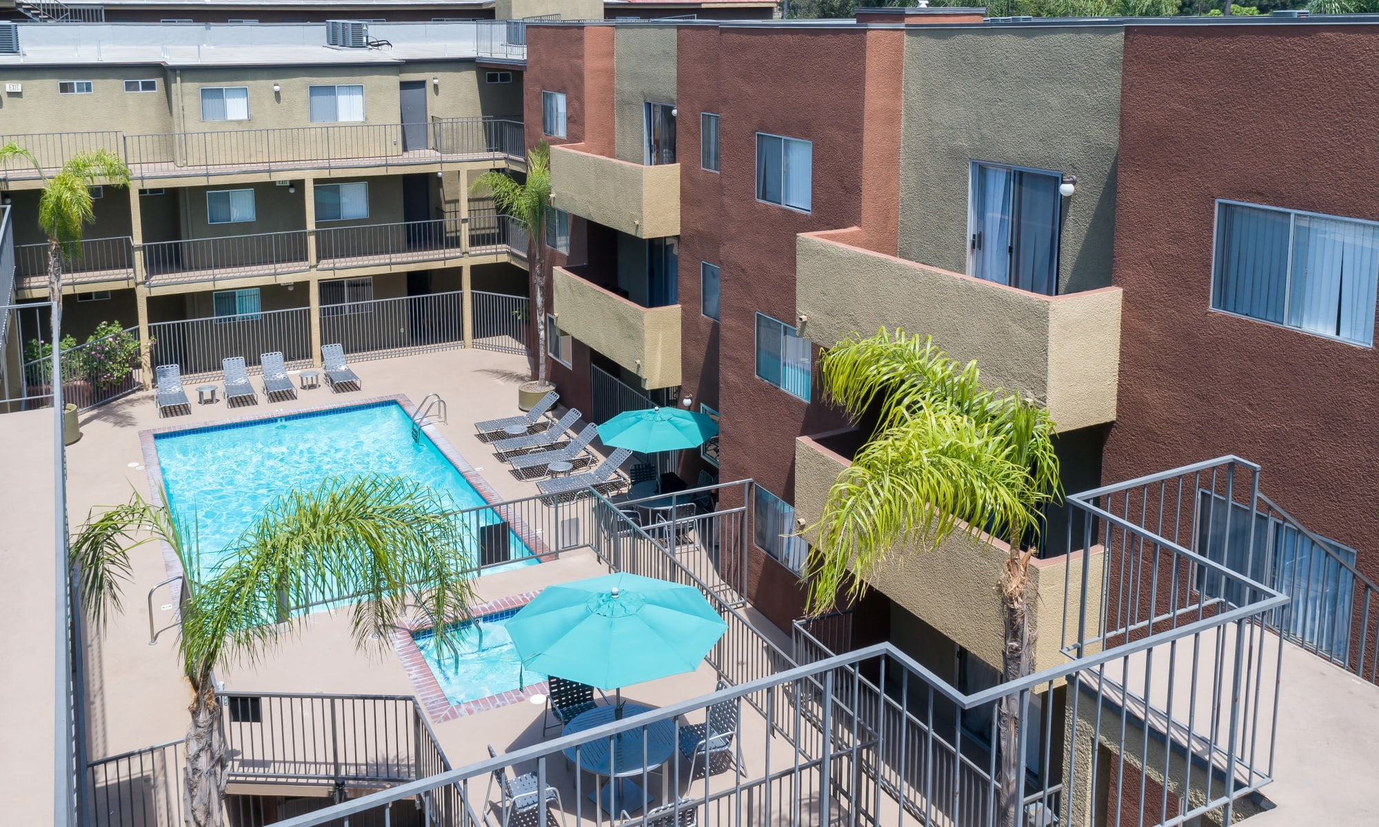 Apartments at Legacy at Westglen in Glendale, California