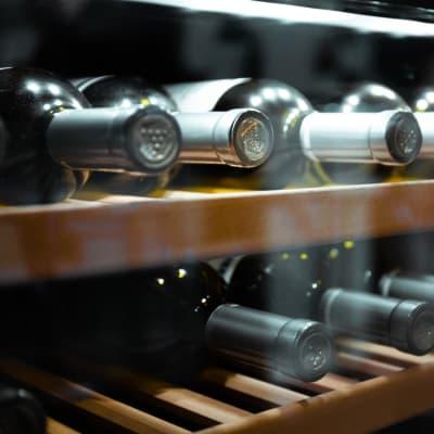 Wine bottles stored at Storage Star Napa in Napa, California