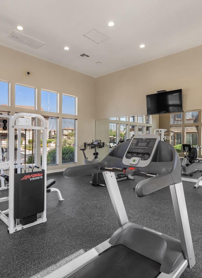 Fitness center at Azure Creek in Cave Creek, Arizona