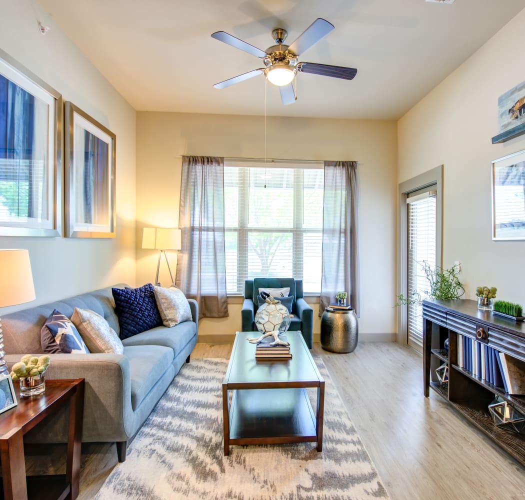 Living room at Domain at Midtown Park