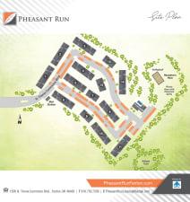 Sitemap at Pheasant Run in Michigan