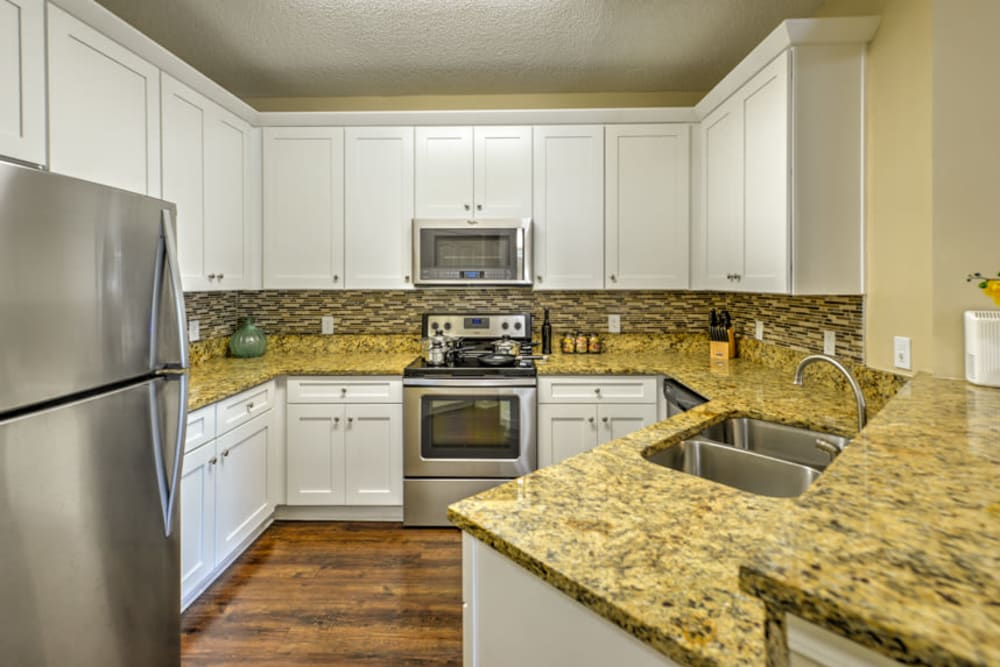 Kitchen at Ocean Park of Ponte Vedra in Jacksonville Beach, FL