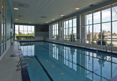 Indoor Swimming Pool at Lakeshore Drive in Cincinnati, OH