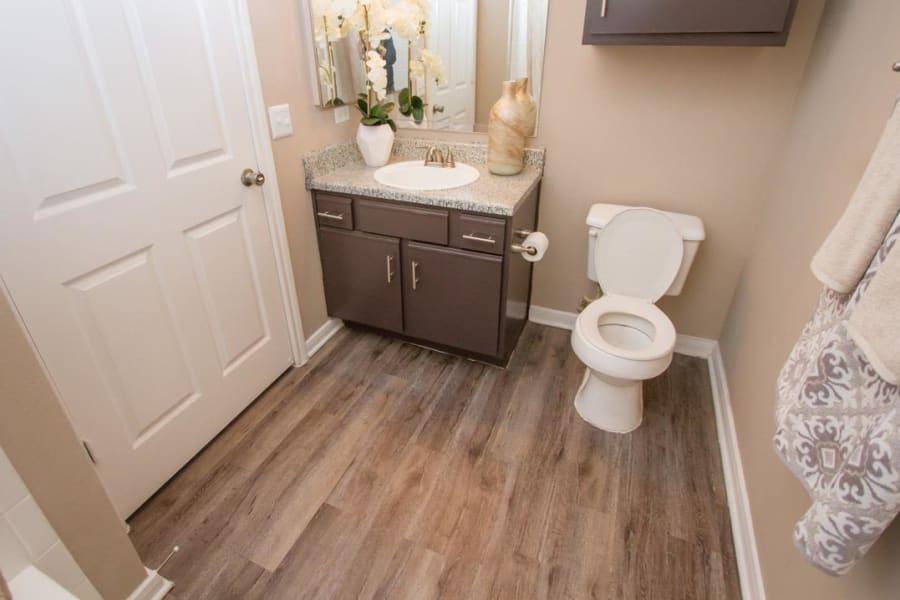 Bathroom at Veranda in Texas City, Texas